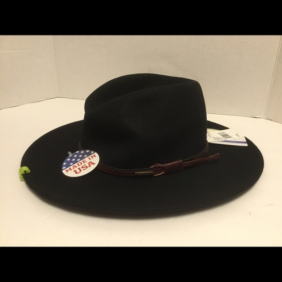 Stetson Bozeman Crushable Wool Felt Festiva Hat 777e3988d28